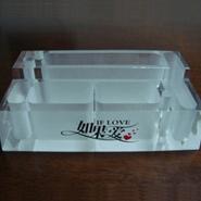 亚克力有机玻璃桌面收纳纸巾盒