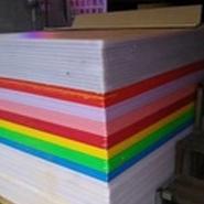 塑料板材专供广告迷你字、水晶字专用,厚度15-20mm