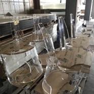 透明亚克力板 有机玻璃透明座椅