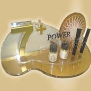 亚克力塑料板水晶透明化妆品桌面展示架